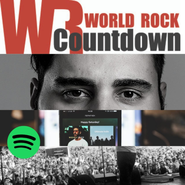 World Rock Countdown on Spotify